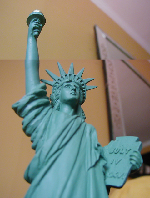 Statuette of Liberty