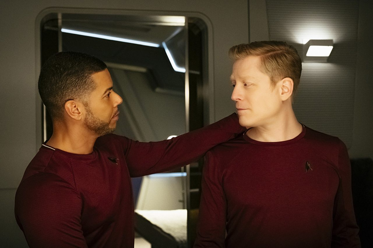 Culber and Stamets bein' sweet